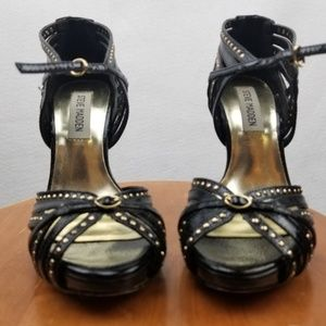 Steve Madden Black Stiletto Sz 8